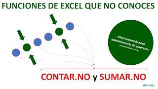 Funciones de Excel que no conoces: CONTAR.NO y SUMAR.NO
