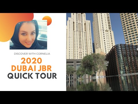 2020 Dubai Jumeirah Beach Residence [JBR] and Madinat Jumeirah Quick Tour