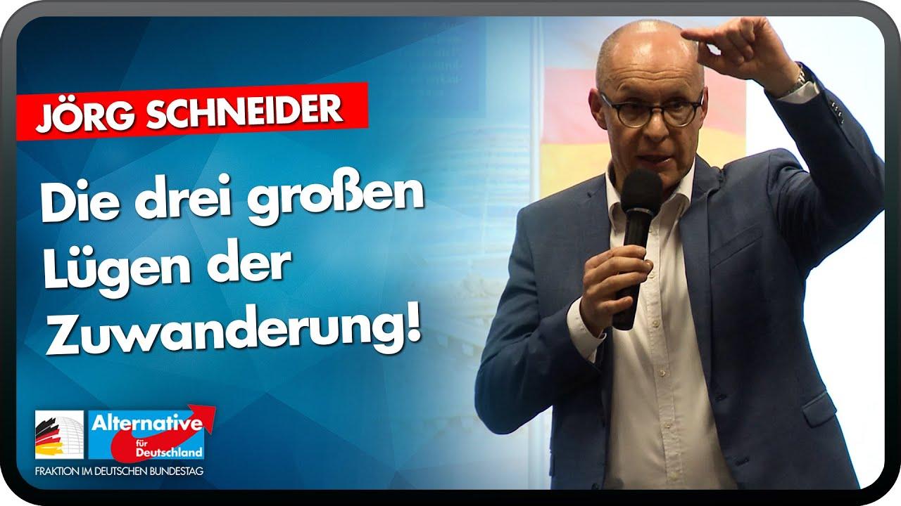 Die drei großen Lügen der Zuwanderung! - Jörg Schneider