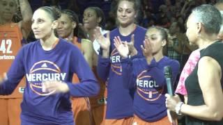 City of Phoenix Honors the Mercury's Diana Taurasi