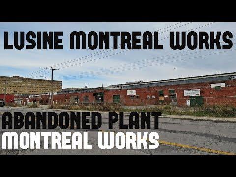 Urbex: L'usine Montréal Works / Abandoned Plant Montreal Works