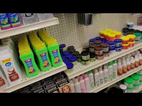 Dollar Tree Shampoo & Miscellaneous Shelf Organization 1-10-2020
