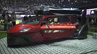 Live from Geneva 2018 - PAL-V Flying car LIBERTY thumbnail