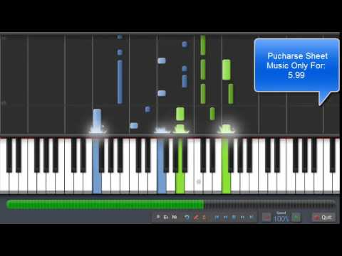 Evanescence - Lithium Piano Tutorial ( Sheet)