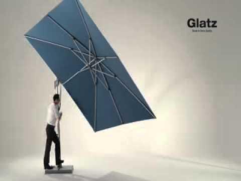 Sombrano Sonnenschirm Von Glatz Youtube