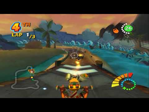 Download Crash Tag Team Racing Ps2 Gameplay Hd Pcsx2 MP3