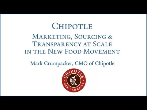 Chipotle: Marketing, Sourcing and Transparency at Scale in the New Food Movement