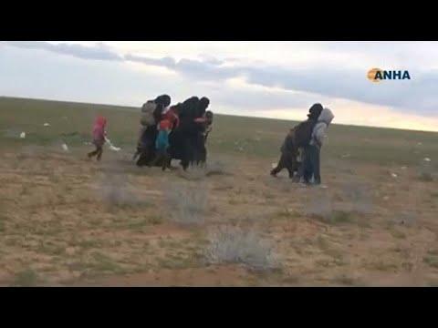 Сдача боевиков ИГ в Сирии