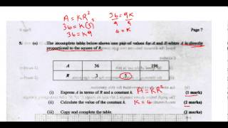 csec cxc maths past paper 2 question 5a may 2013 exam solutions act math sat math