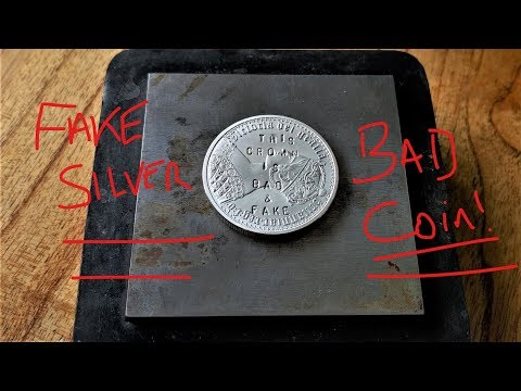 Putting a Fake Silver Coin to the test!