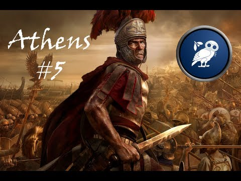 Total War: Rome II - Athens #5 - The Invincible Knossos Fleet