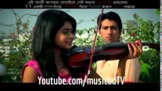 Hridoyer Pothe Jibon Khan, Nirjhor Full HD Bangla Song 2014   YouTube