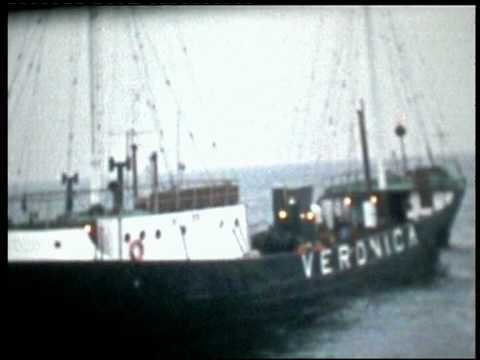 Radio Veronica, Radio Northsea, Radio Caroline, Radio Mi Amigo 1974 Offshore Radio
