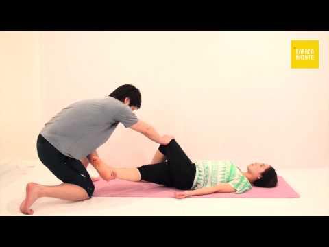 05大腿筋膜張筋のストレッチ