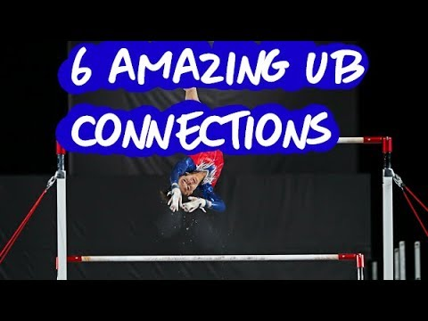 Gymnastics - 6 Amazing Uneven Bars Connections