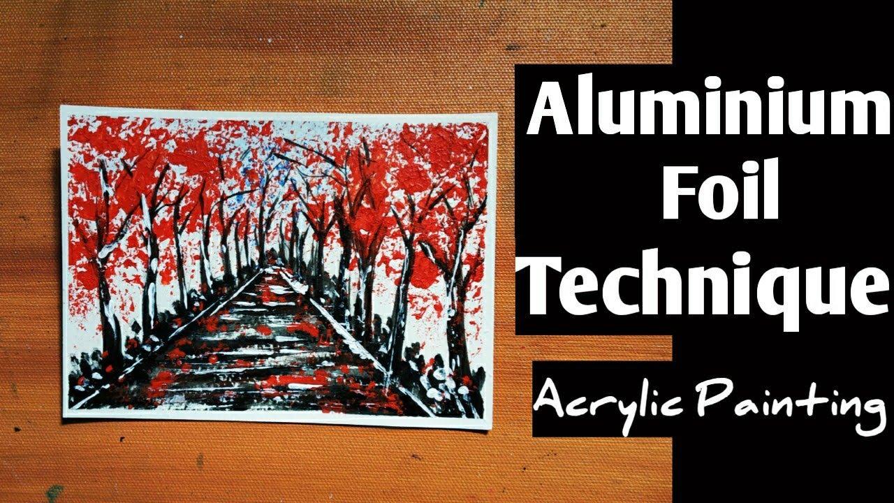 Download Acrylic Painting For Beginners | Aluminium Technique