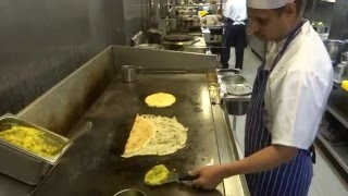 Indian Street Food: Onion Rava Masala Dosa & Pizza Utthappam at Sangeetha Restaurant Hounslow London