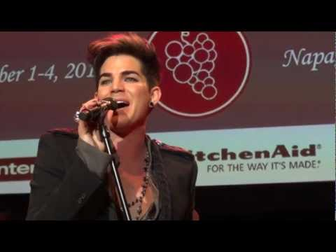 Adam Lambert - Naked Love - Live In The Vineyard - 11/3/12
