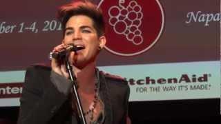Adam Lambert - Naked Love - Live In The Vineyard - 11/3/12