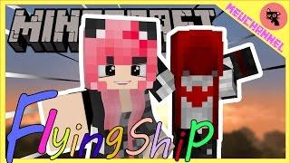 Minecraft flying ship: Đảo Ba Bể thất thủ