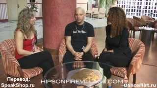 Видео: Jorge Ataca & Tanja La Alemana Интервью ( Русский перевод )