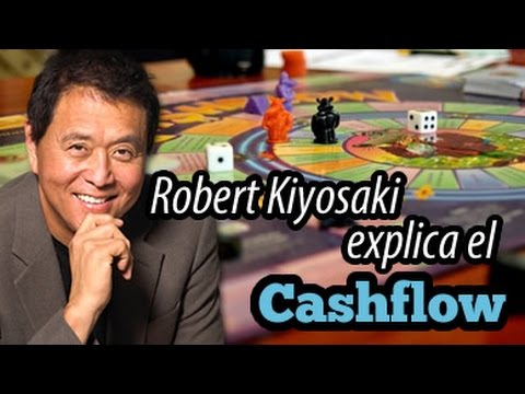 Robert Kiyosaki explica el juego Cashflow 101, Subtítulos en Español.