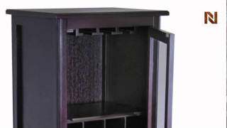 Winsome Ryan Wine Cabinet 16-bottle, Glass Rack, One Door 92522