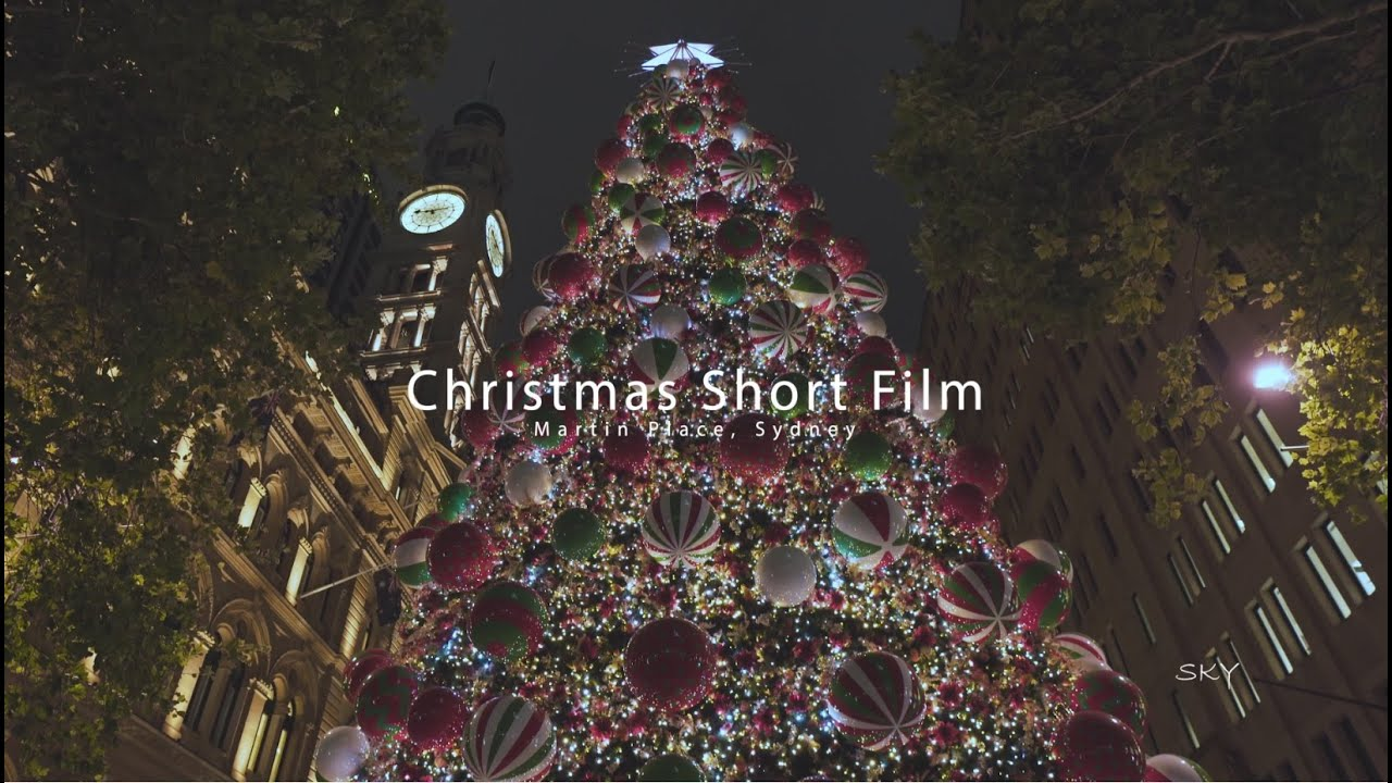 Short story - Christmas in Martin Place 4K