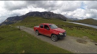Geoffs 4WD view : Lake Taylor to road end  -   real time speed