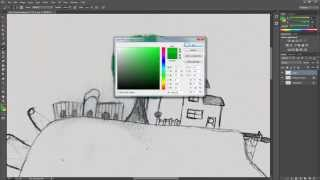 Turn physical drawing into digital drawings