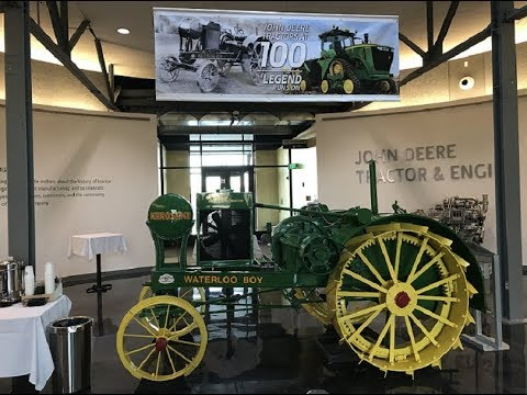 100 Years Ago Today John Deere Got into Tractor Business Bought Waterloo Gas Engine Co.
