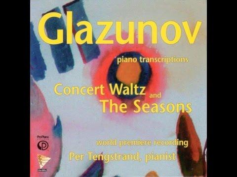 11. The Seasons, Op. 67: Barcarolle, Alexander Glazunov, piano transcriptions, Per Tengstrand, Piano