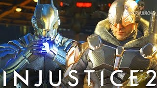 "Epic Captain Cold Freezes The Bat! - Injustice 2 ""Captan Cold"" Gameplay (Online Ranked)"