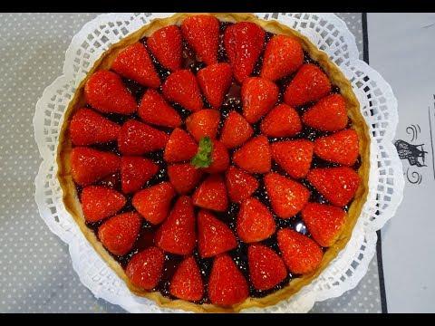 tarte-aux-fraises-facile---sans-crème-patissière