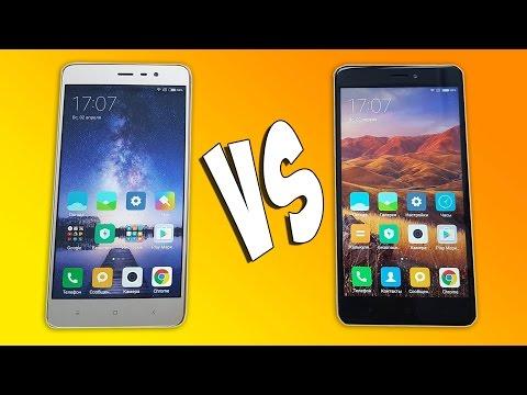 Xiaomi Redmi Note 3 Pro Vs Xiaomi Redmi Note 4X - ЧТО ЛУЧШЕ?