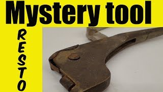 Mystery British Aircraft Crank Pliers Lets Restore It