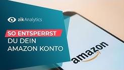 So entsperrst du dein Amazon-Konto