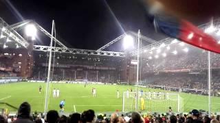 Genoa inter 3-2 gol di kucka gradinata nord