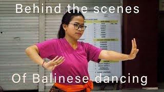 Gambar cover Behind the scenes of Balinese dancing.