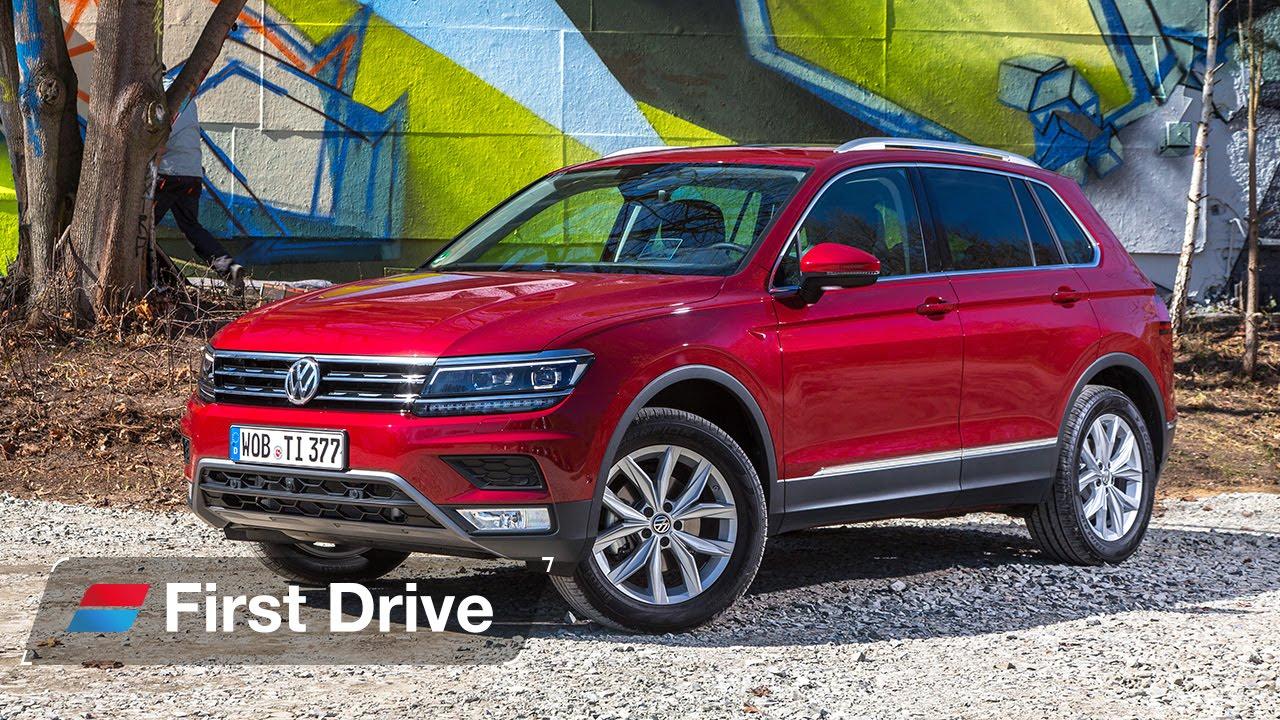 2016 Volkswagen Suv >> 2016 Volkswagen Tiguan First Drive Review Youtube