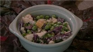 Pea Salads : Cauliflower & Pea Salad