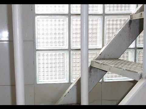 Glass Block Repair - Installing Replacement