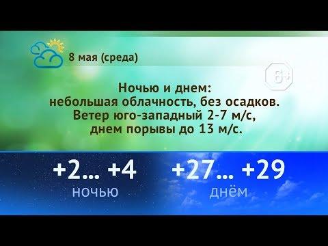 Погода на 8, 9, 10 мая