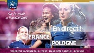 Le replay de France - Pologne Féminine A (6-0)