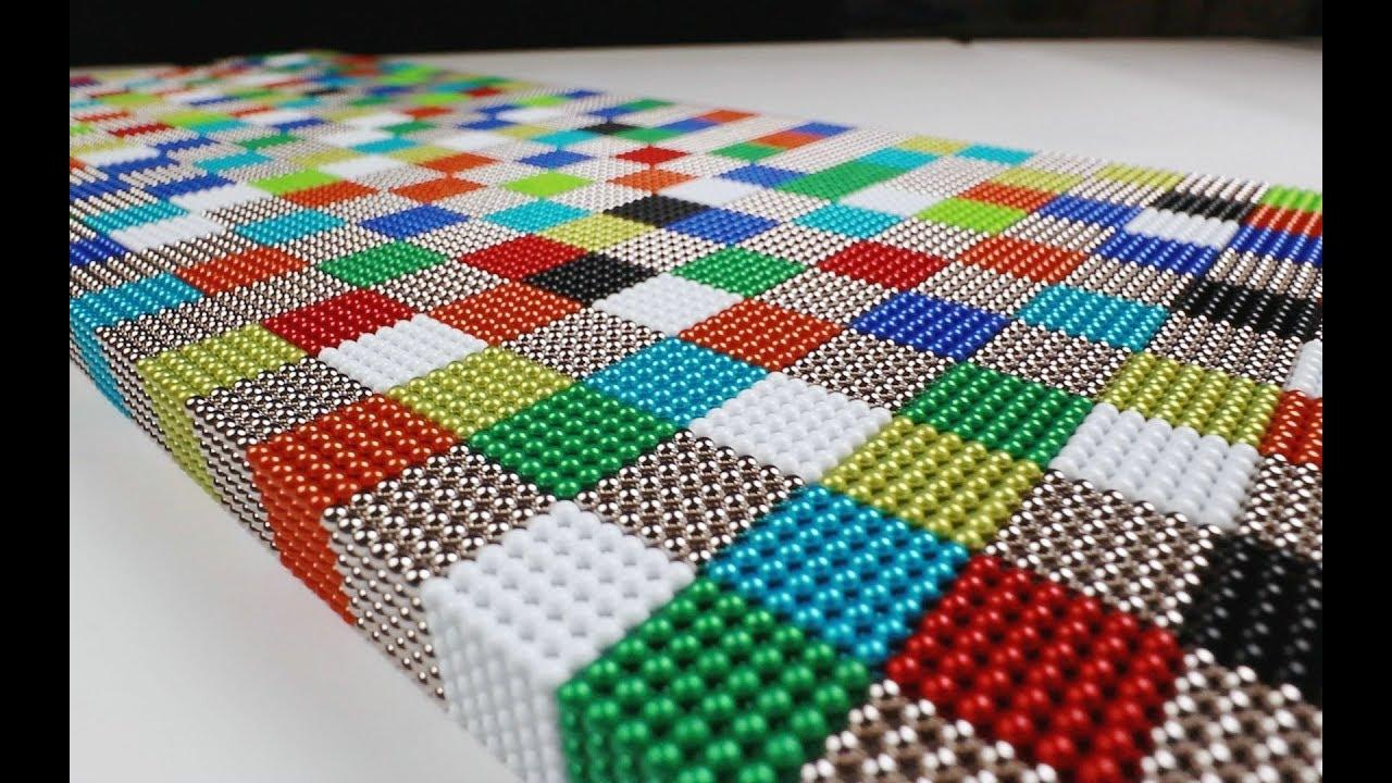 《磁玩》vlog042 好心疼,我把六万多颗巴克球的大立方拆掉了