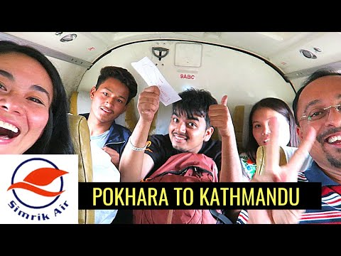 TINY FLIGHT FROM POKHARA TO KATHMANDU & Realities of Travel Bloggers