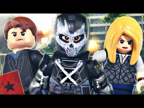 LEGO Marvel : Civil War - Crossbones, Zemo, & Sharon Carter - Showcase