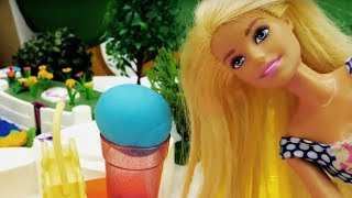Свидание Барби на пляже. Видео для девочек