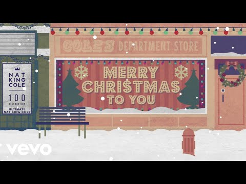 Nat King Cole - The Christmas Song (Merry Christmas To You) (Lyric Video) Mp3