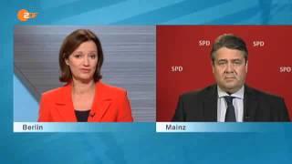 """""""DER DICKE ROTE MANN VON DER SPD"""" reagiert gereizt auf Fragen"""